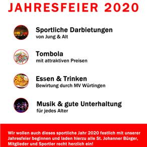 Jahresfeier 2020