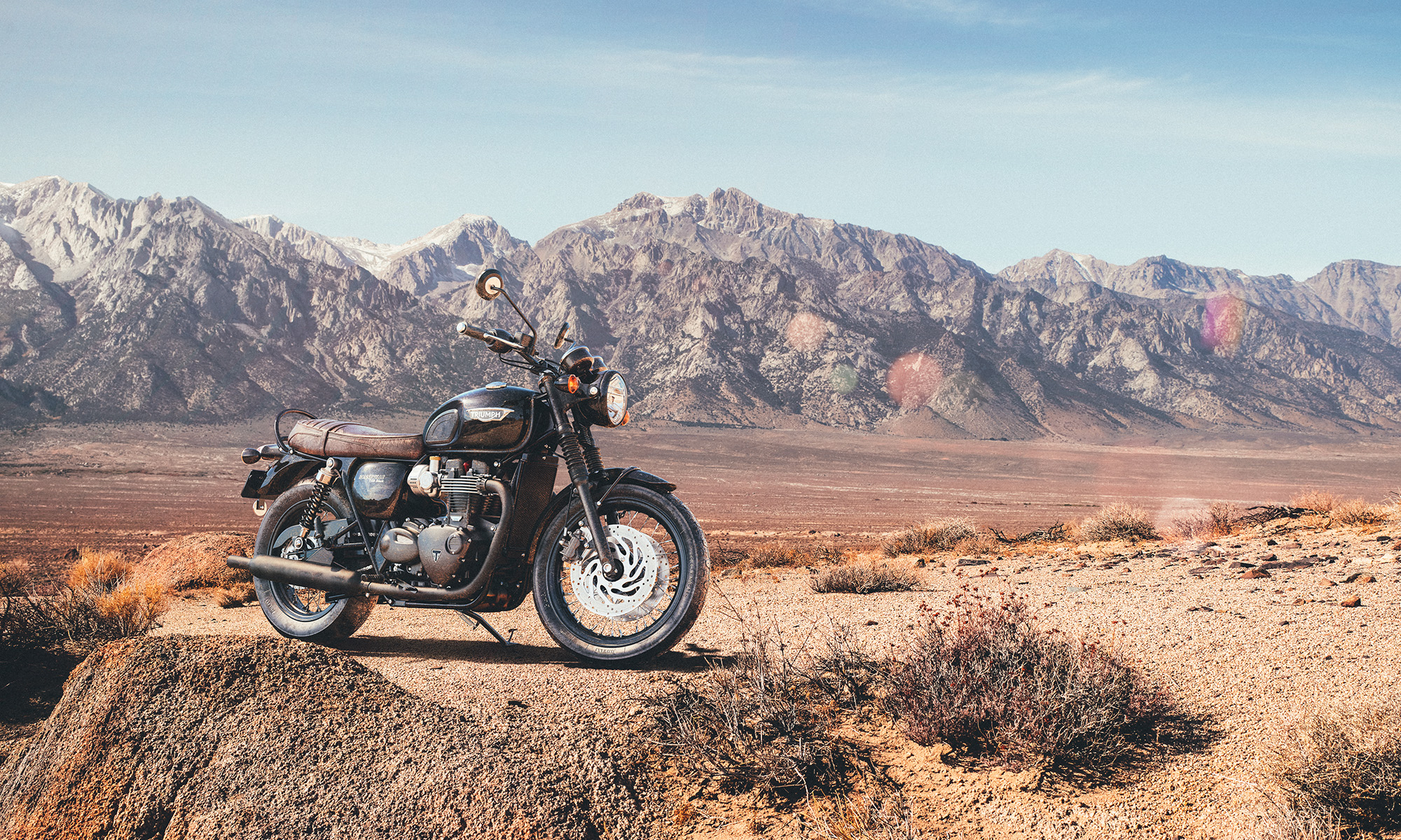 Triumph California Mountains