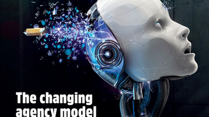 AdNews Cover  - 'The Changing Agency Model' / February Edition