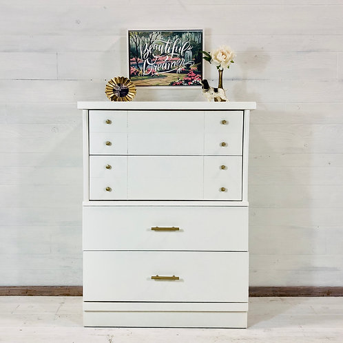 Alabaster White Tallboy