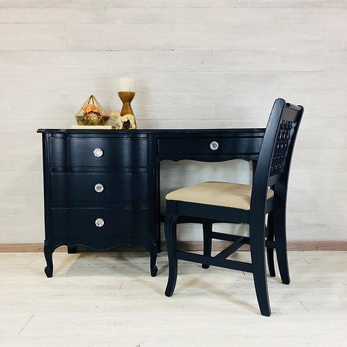 Coastal Blue Writing Desk w/ Chair