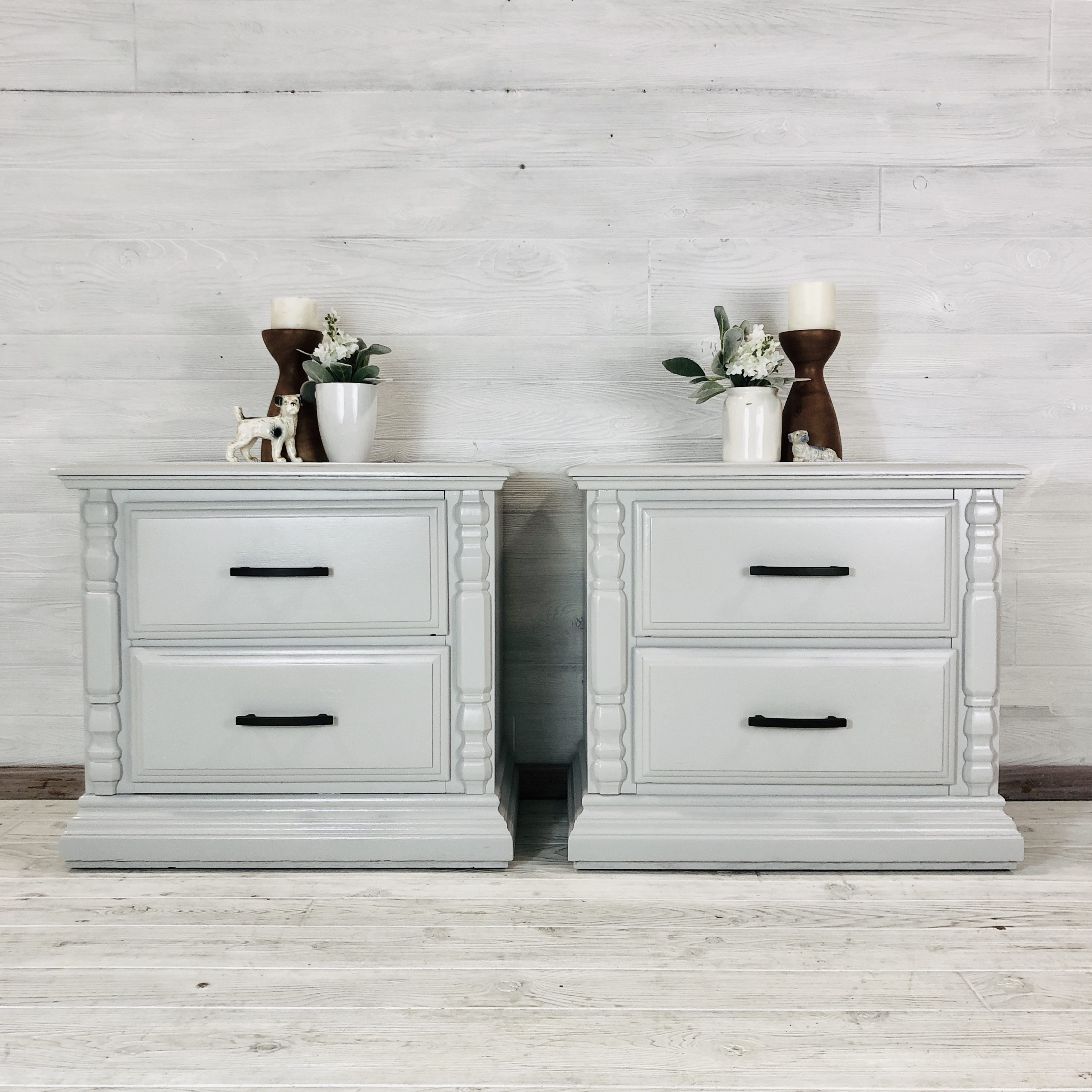 Seagull Grey Nightstands
