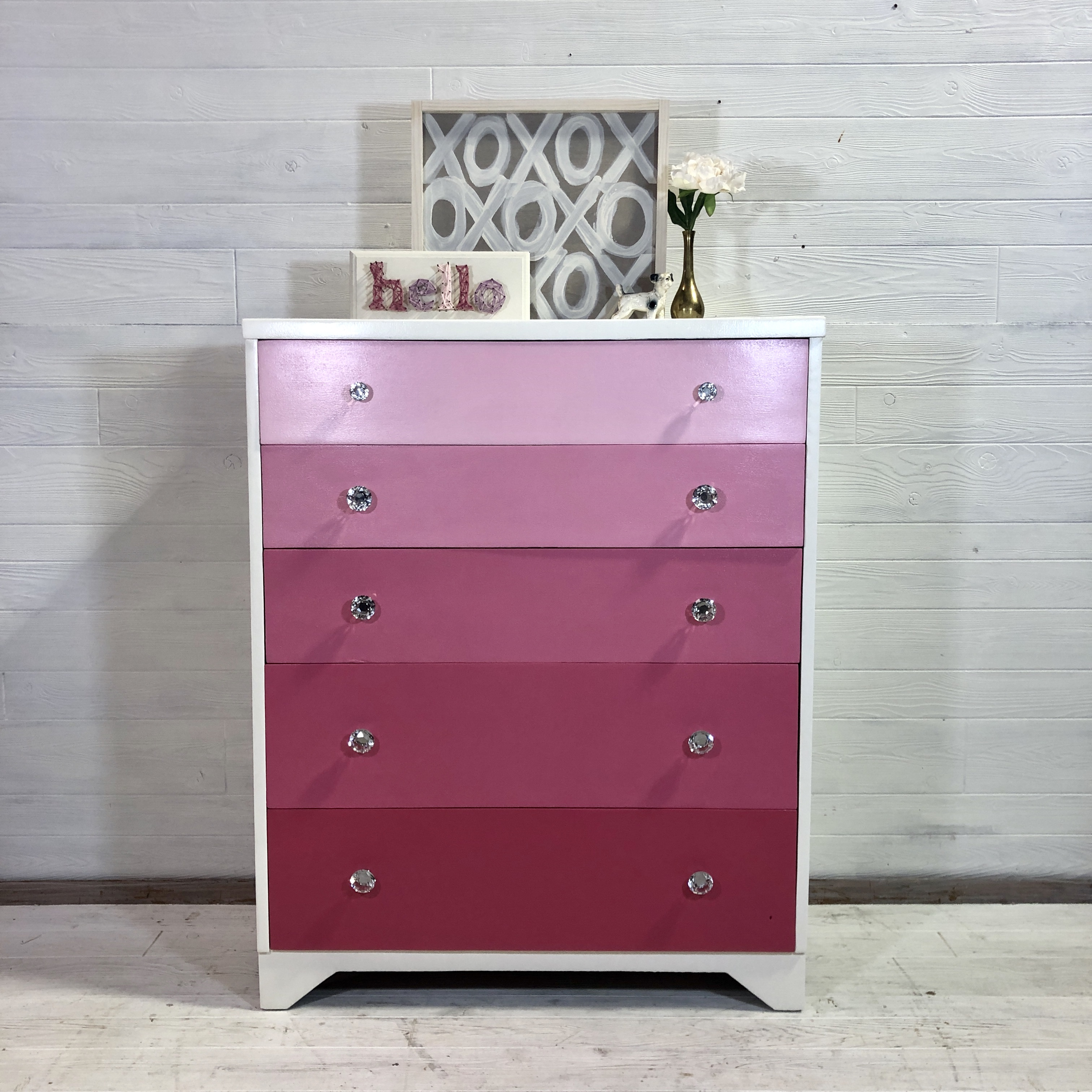 Pink Ombre Tallboy