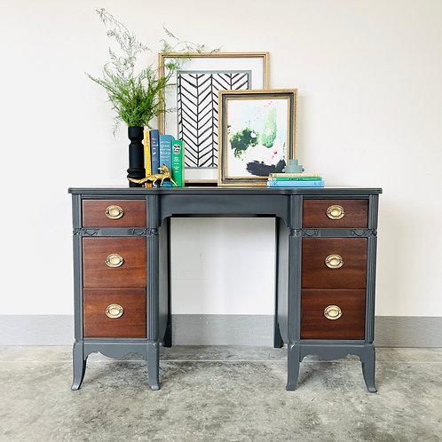 Amy Farrah Fowler- Wood and Iron Ore  Desk