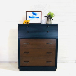 Navy, Wood, and Oil Rubbed Bronze