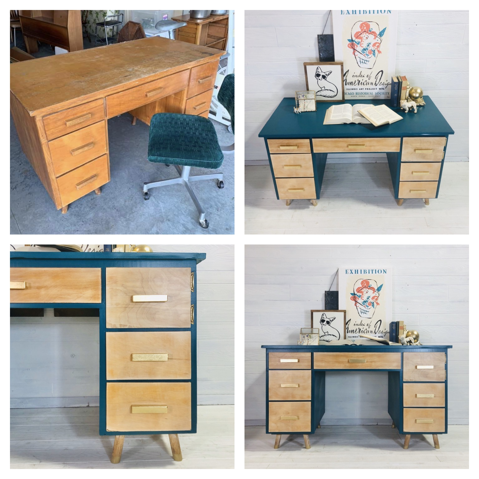 Cape Verde and Raw Wash Desk