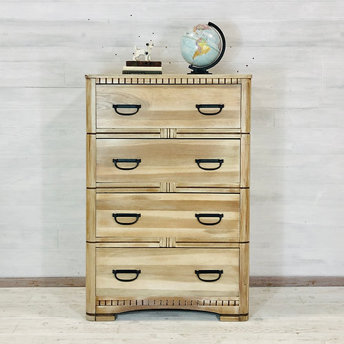 Whitewash Wood Tallboy