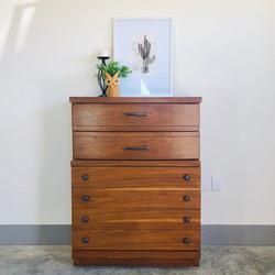 Wood 6 Drawer