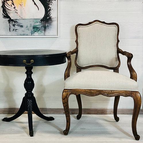 Fleur - Herringbone Tweed Louis XVI Chair