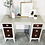 Thumbnail: Moira - Wood and Fawn Brindle  Desk