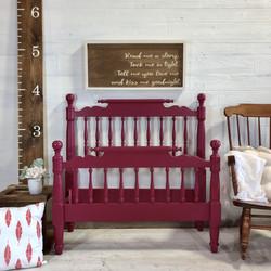 Raspberry Twin Beds