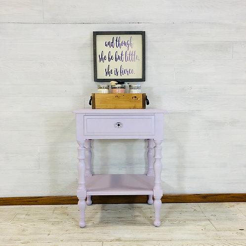 Lavender Nightstand