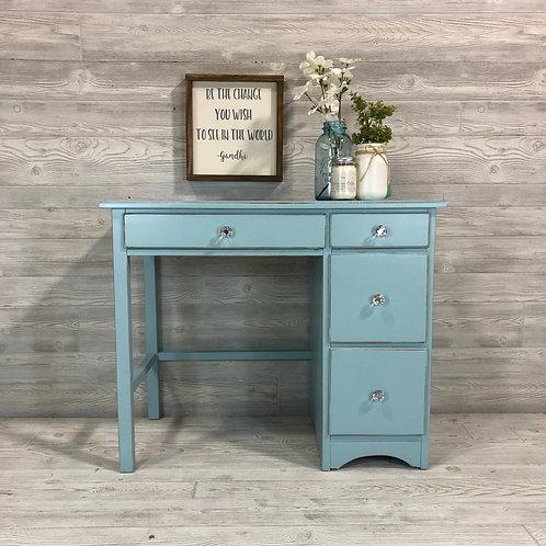 Light Blue Writing Desk