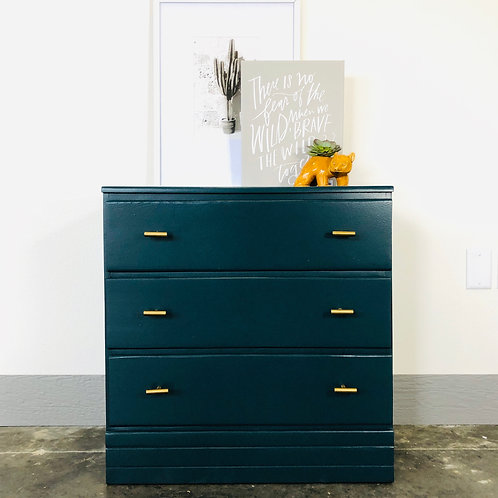 Dylan - Custom Peacock Chest of Drawers