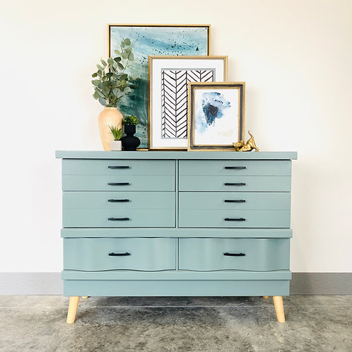 Leonard- Light Blue Dresser