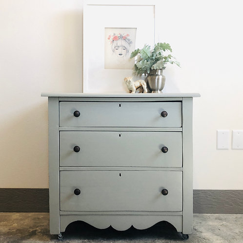 Kiley - Grey Chest of Drawers