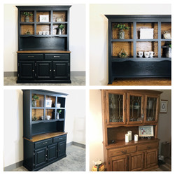 Iron Ore and Wood Hutch