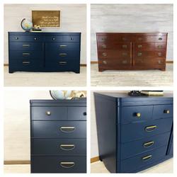 Custom Blue Dresser