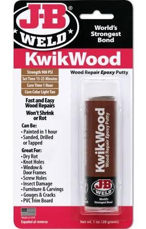 JB Weld Kwik Wood