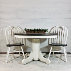 Grey and Alabaster Table
