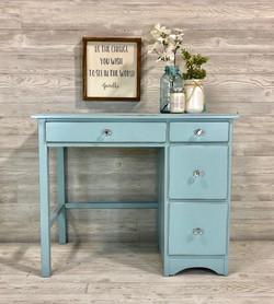Bright Blue Desk