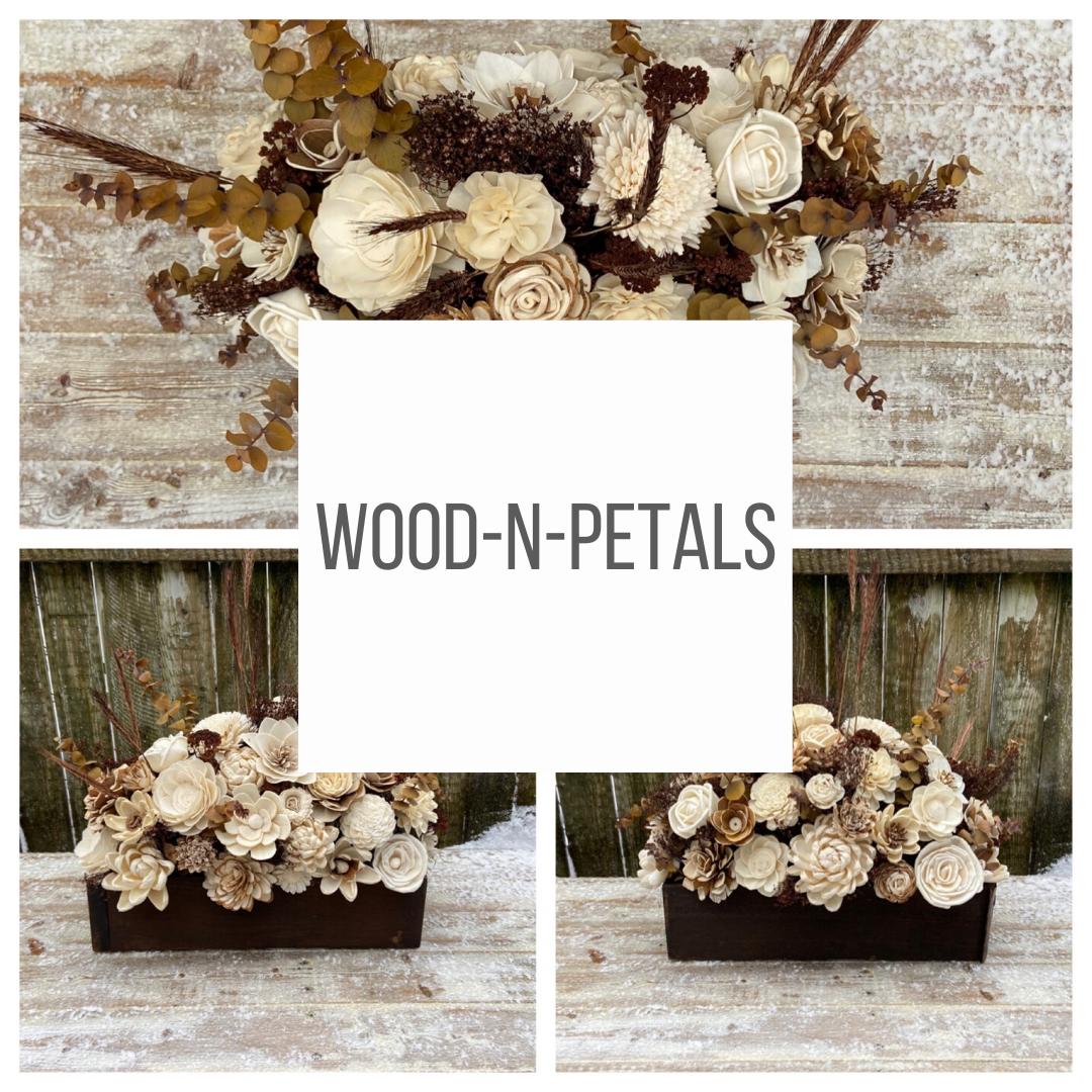 Wood-n-petals
