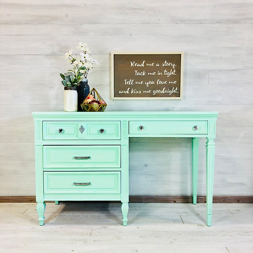 Mint Writing Desk