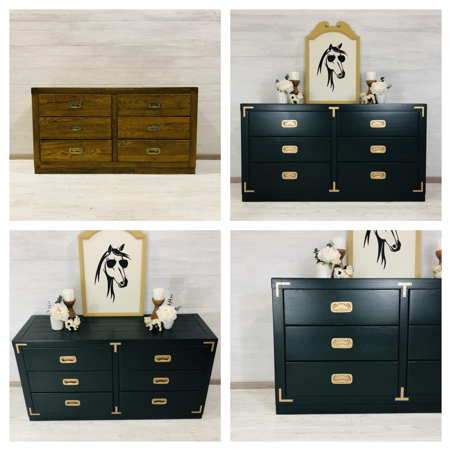 Custom Emerald Dresser
