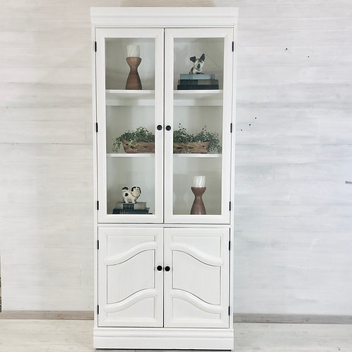 Alabaster White Hutch