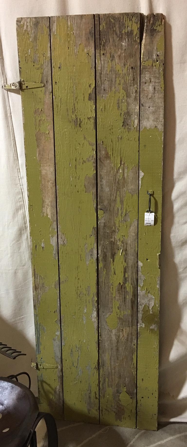 Chippy Green Door