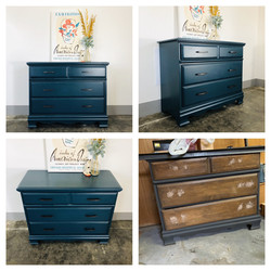 Peacock Chest of Drawers