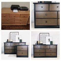 Iron Ore and Wood Dresser