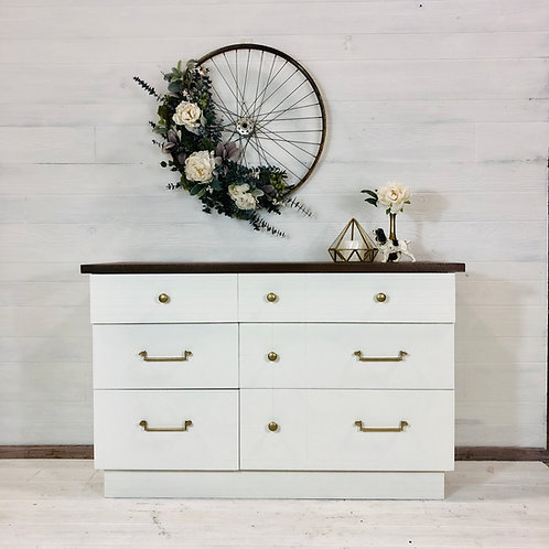 Alabaster White Dresser