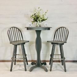 Perfect Grey Pub Table