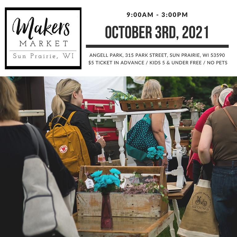 Fall Makers Market Sun Prairie