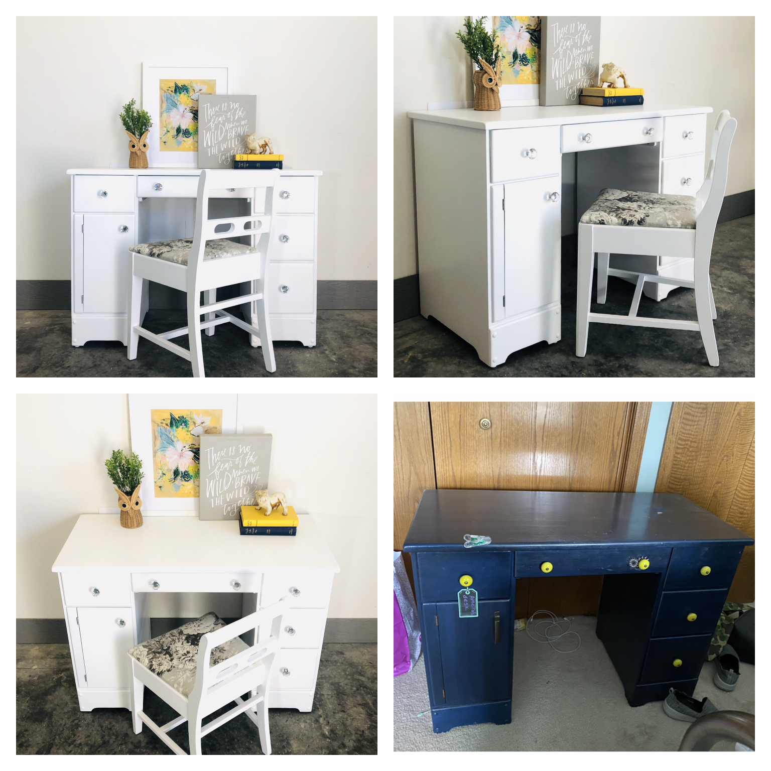 Snow White Desk