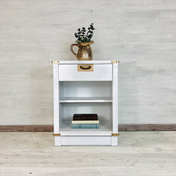 Snow White Campaign Nightstand