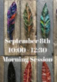 September 8th10_00 - 12_30Morning Sessio