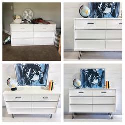 Alabaster MCM Dresser