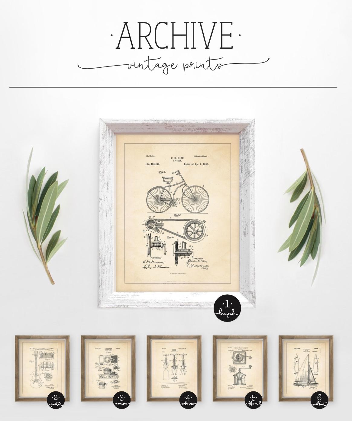 Archive Vintage Prints