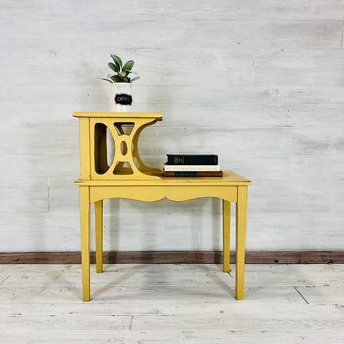 Mustard Accent Table