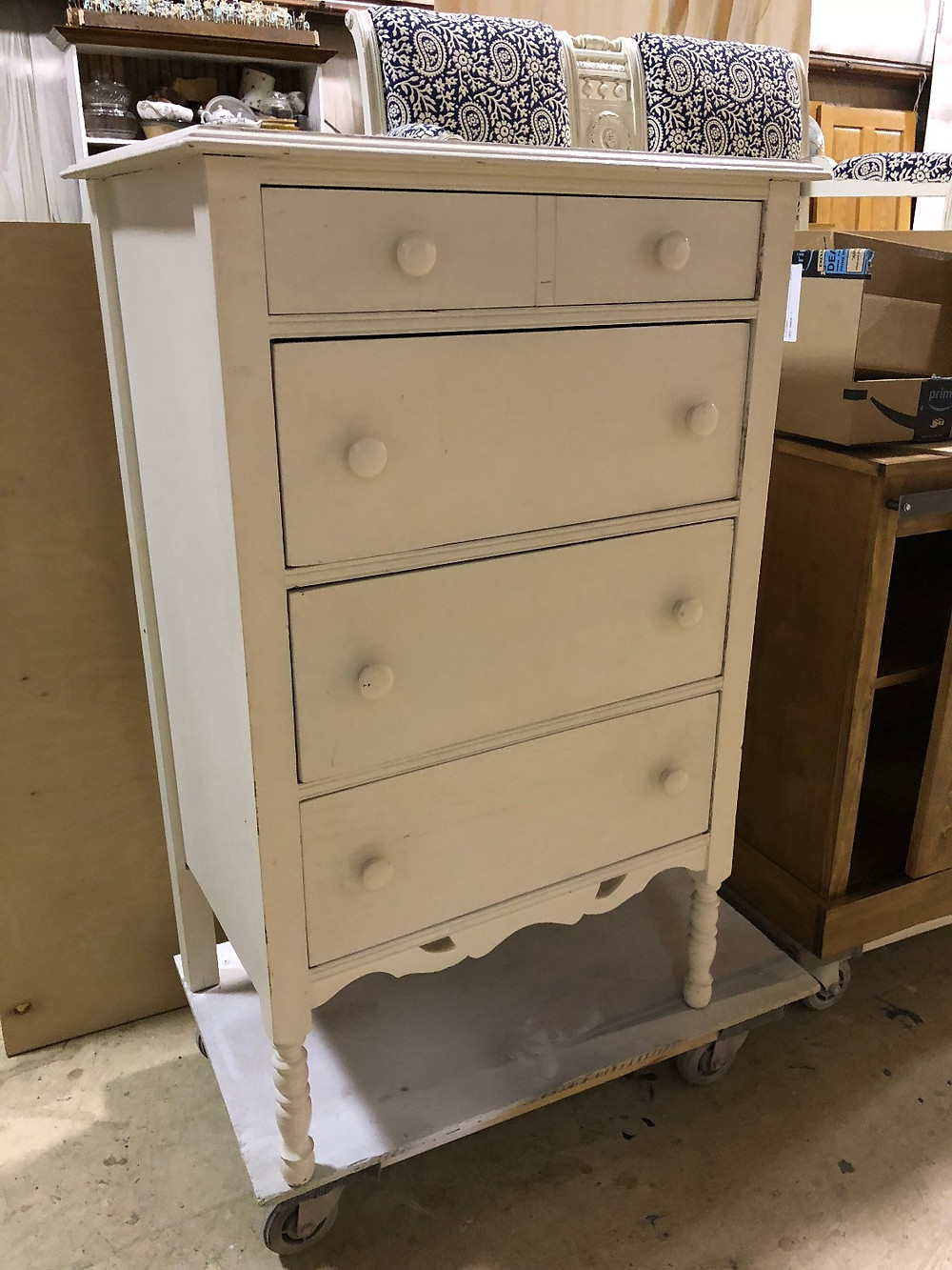 Unfinished Painted Furniture