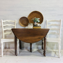 Wood Refinished Table