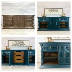 Peacock Dresser