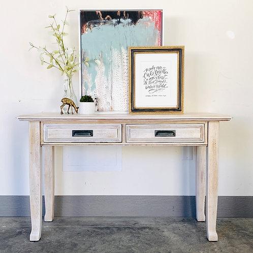 Ted - Raw Wash Sofa Table