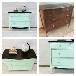 Custom Mint and Java Dresser