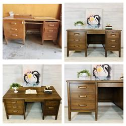 Wood Teachers Desk