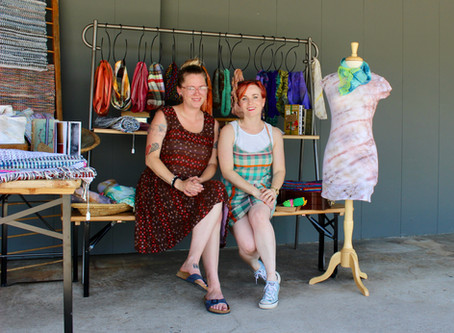 Interview with a Maker - Becca and Courtney of Hook + Loom