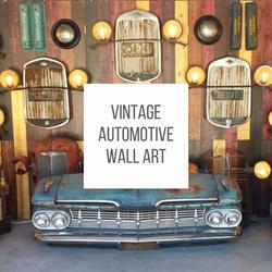 Vintage Automotive Wall Art