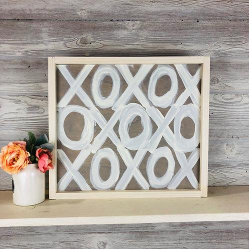 XOXOXOXO Wood Sign